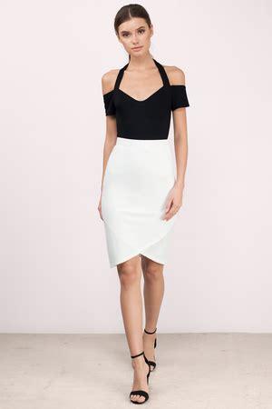 trendy white skirt white skirt high waisted skirt