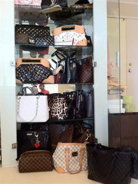 Bags Closet by Bag Bags Chanel Closet Image 426068 On Favim