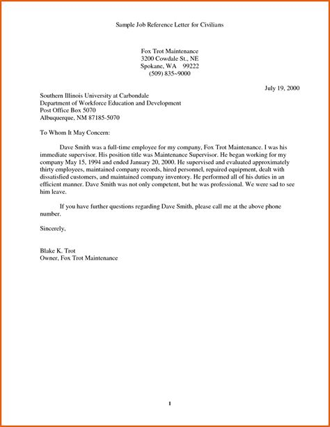 Recommendation Letter Format For Application Application References Apa Exles