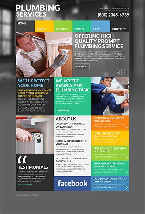 10 best plumbing website templates tonytemplates