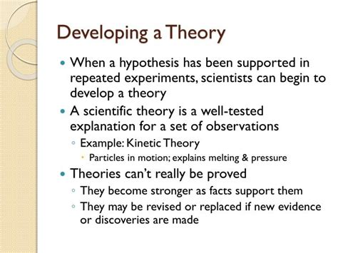 how to write the theory section of a research paper 28 developing a hypothesis worksheet science