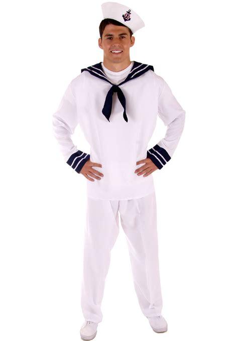 Adult Sailor Complete Costume, Bargain Fancy Dress