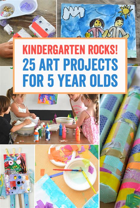 painting for 5 year olds kindergarten rocks 25 projects for 5 year olds