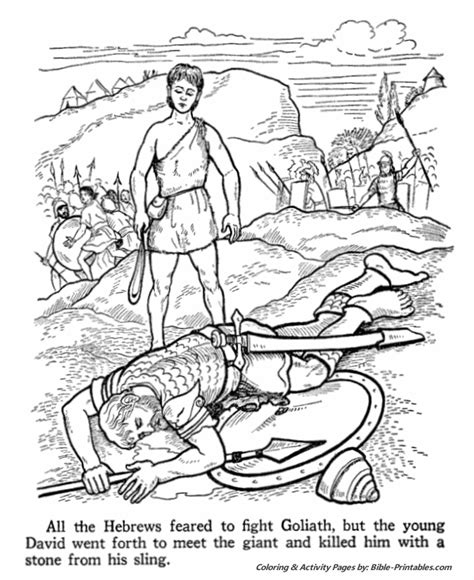 david and goliath coloring pages for toddlers samuel coloring pages