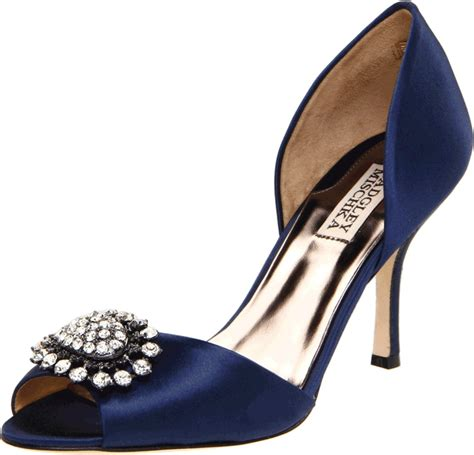 Wedding Shoes Navy by Navy Blue Wedding Shoes With Crystals Ipunya
