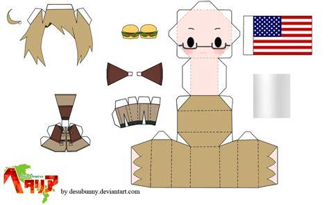 Hetalia Papercrafts - hetalia america papercraft by tsunyandere on deviantart