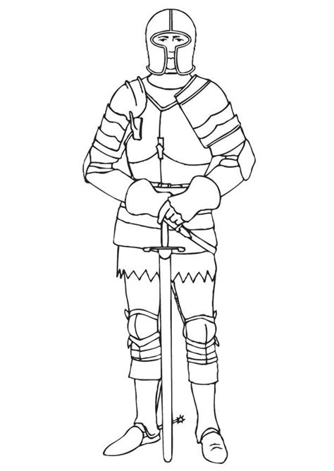 knights armor coloring pages knight in shining armor coloring page coloring pages