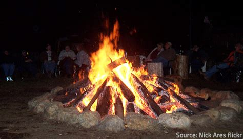 How To A Bonfire Without A Pit safety tips for outdoor bonfires and pits