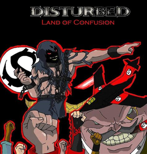 Disturbed Land Of Confusion | disturbed land of confusion by metalbeast114 on deviantart