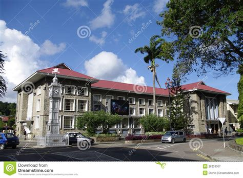 Beach House Plans Free Liberty House And Clock Tower In Victoria Seychelles