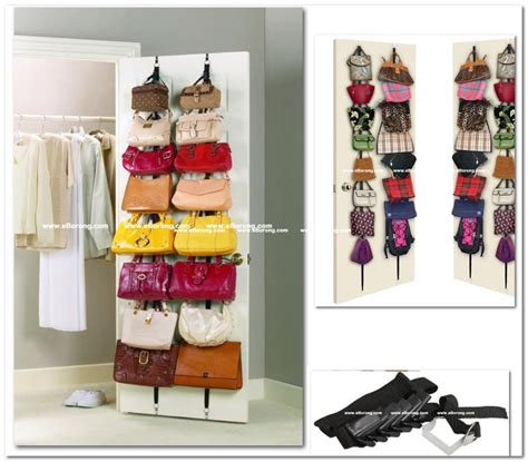 Handbag Hanger Closet by Closet Organizer Purse Rack Roselawnlutheran