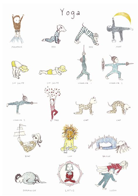 yoga for kids free printable poster collection a poster of my kids yoga book images is now on sale online