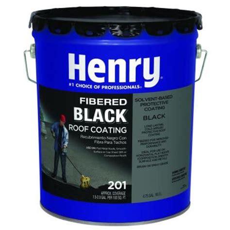 henry 201 4 75 gal fibered asphalt coat he201571 the