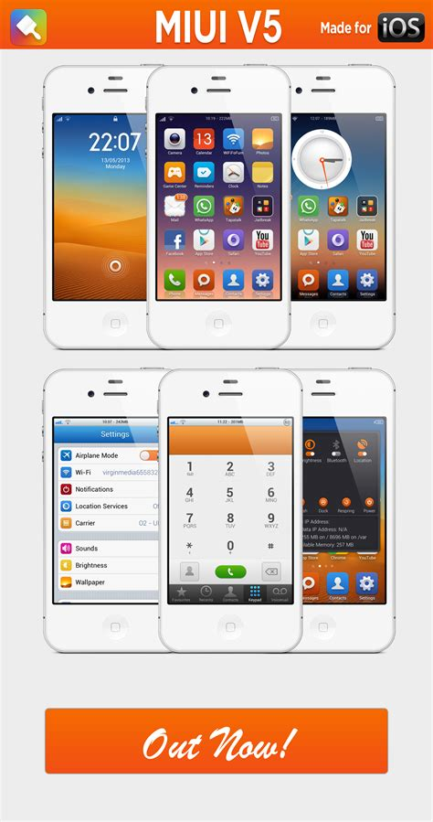 iphone themes for miui v5 miui v5 iphone by h4mza on deviantart