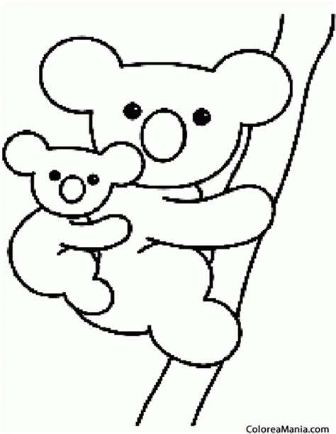 dibujos para colorear im genes para colorear clipart dibujos de koalas para colorear clipart best