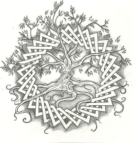tribal tattoos lds for hubby celtic tree of by vizualassassin on