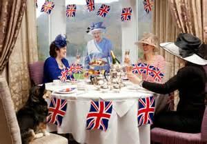 Bathroom British English God Save My Goods Afternoon Tea Royal Family And