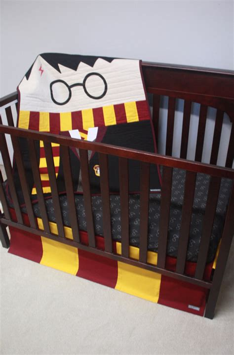 harry potter crib bedding a harry potter crib set don t miss these spellbound