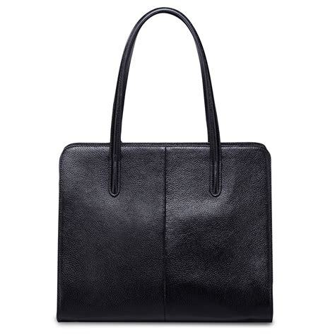 top grade bags nucelle top grade cowhide leather bag black
