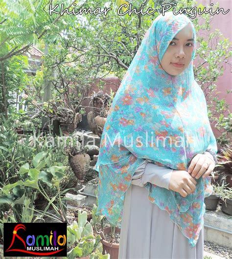 Paling Laris Hijabjilbab Khimar Pinguin 3 Layer By Novi pusat khimar bergo ceruti murah di bogor 081282008099