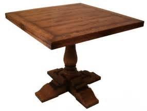 Square Oak Dining Table