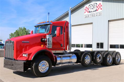 kenworth chassis 2014 kenworth t800 heay spec cab chassis 131 truck