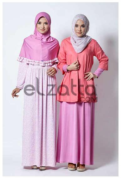 Baju Muslim Elzatta contoh foto baju muslim modern terbaru 2016 koleksi busana muslim modern elzatta terbaru 2016