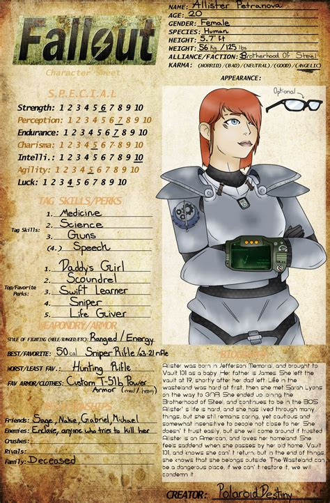 Fallout Meme - fallout oc meme allister petranova by polaroiddestiny on