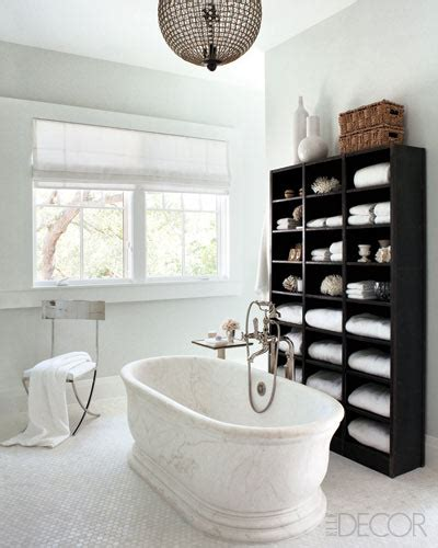 nate berkus bath interior design inspiration photos by elle decor page 1