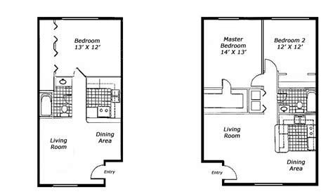 one bedroom floor plans for apartments 1 bedroom apartment floor plans buybrinkhomes com