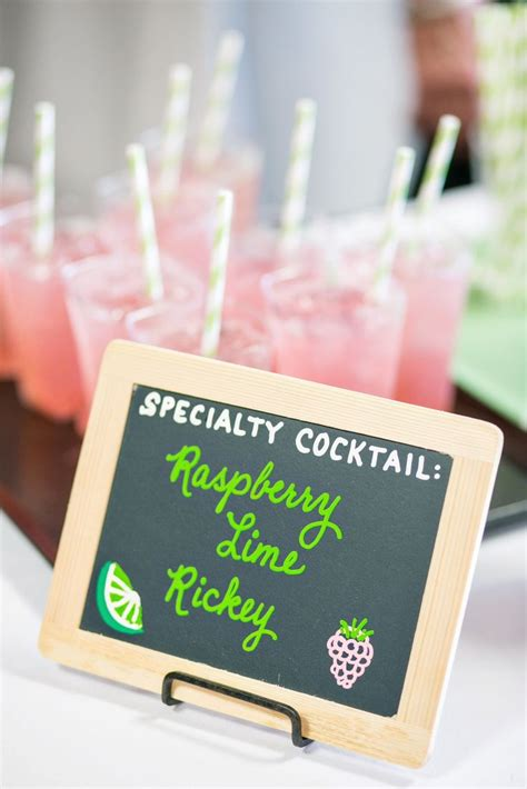 specialty drink signs t b cocktail hour pinterest