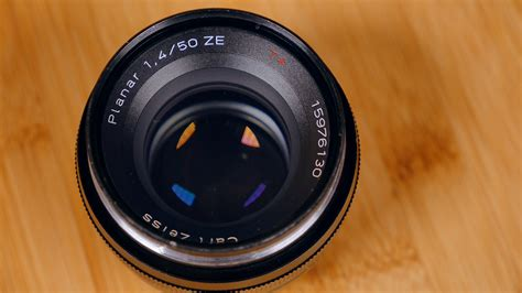 Carl Zeiss Planar T 50mm F14 Ze Mount Canon leica r summicron 50mm f 2 vs zeiss planar t 50mm f 1 4 ze filmformatt