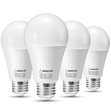 Lohas 100 Watt Led Light Bulb Equivalent A19 Led Bulb 13 Watt Led Light Bulbs