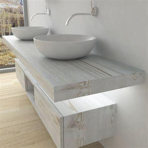 mensola legno per lavabo da appoggio mensole per lavabo da appoggio con led luminoso arredo