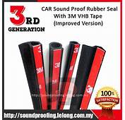 3rd Generation 3M VHB CAR Sound Proof Rubber Seal End 5