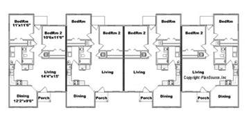 fourplex plans 4 plex house plans escortsea