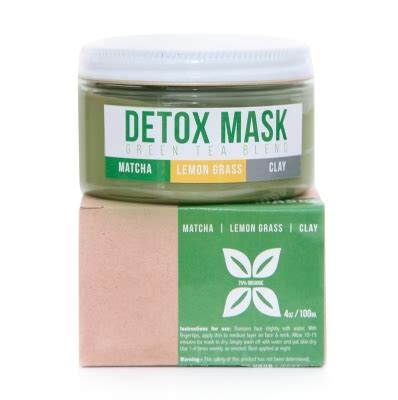 Detox Shoo That Works by Teami Green Tea Detox Mask Matcha