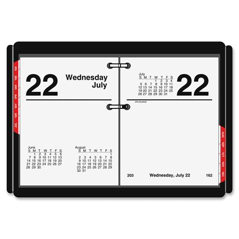 Are Calendar Days The Same As Business Days At A Glance E919 50 At A Glance Compact Size Daily Desk