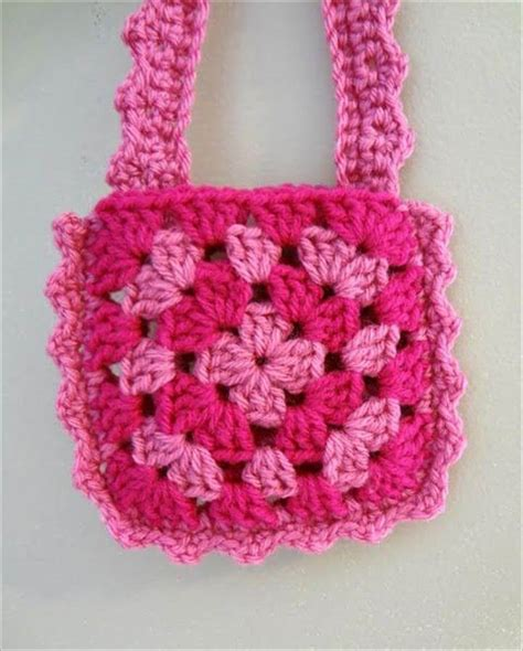 crochet pattern small bag easy crochet small purse patterns for beginners