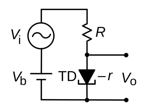 tunnel diode history file tunnel diode lifier svg