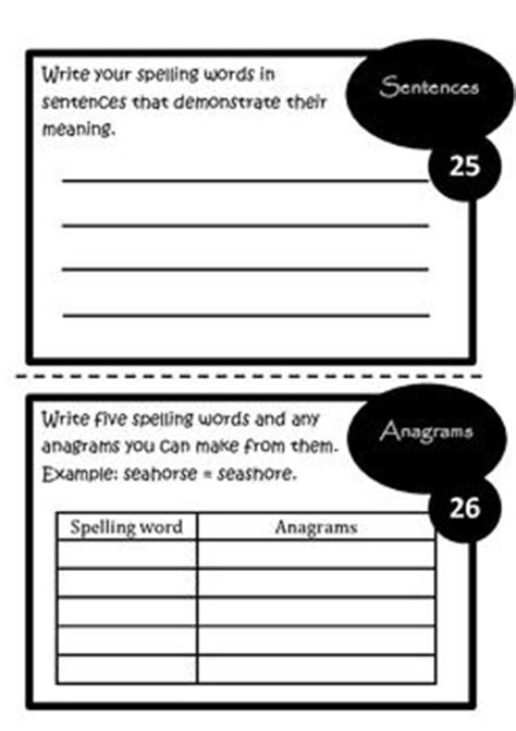 1000 images about spelling on pinterest homework