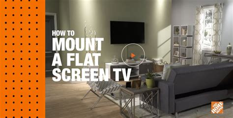 ways to mount a tv how to mount a flat screen tv