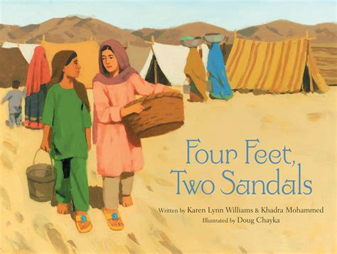 ten cultures twenty lives refugee stories books four two sandals williams khadra