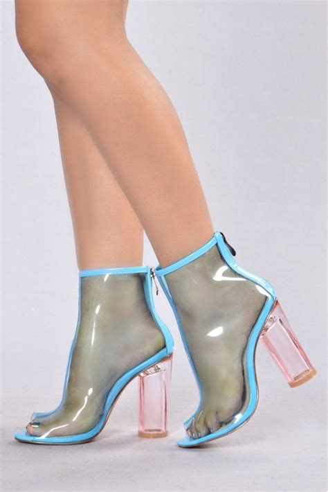 Heels Fashion Import 5 the mel boot blue
