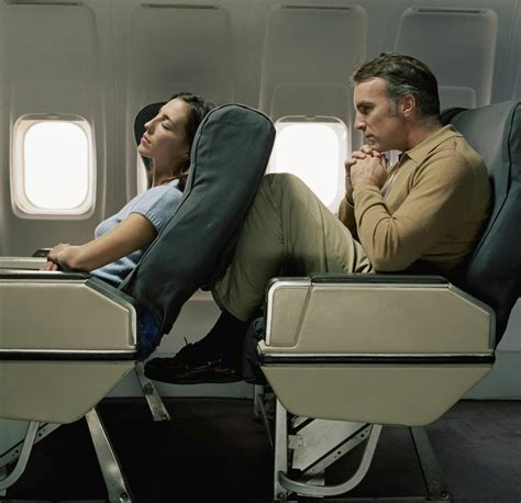 reclining seats on planes when you recline your plane seat says a lot about your