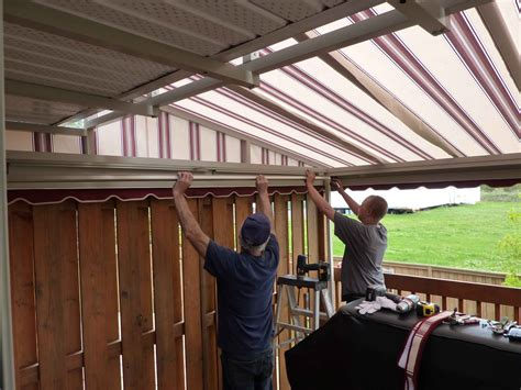 awning installers ah sweet mystery of life an awning for the deck