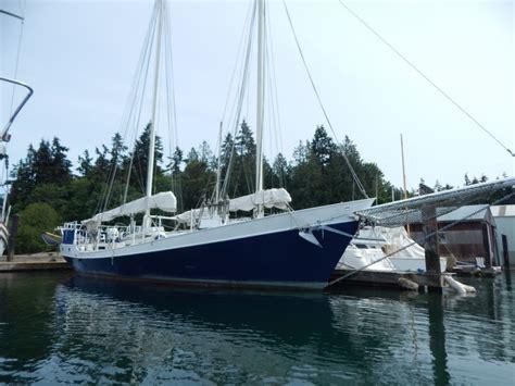 sailboat rental seattle 1986 colvin schooner 60 foot 1986 sailboat in seattle wa