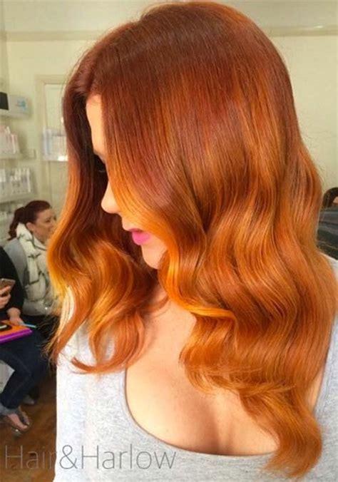 copper colored hair 100 badass hair colors auburn cherry copper