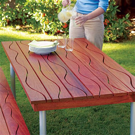 make your own picnic bench sunset magazine s favorite diy backyard woodworking projects schutte lumber
