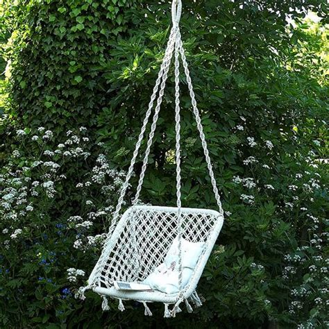 macrame swing chair pattern macrame hanging chair products i love pinterest macrame